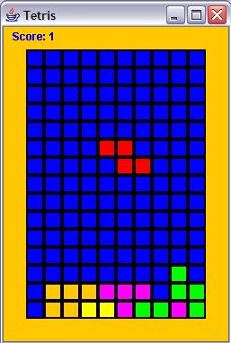 Tetris for Intro/Intermediate Programmers